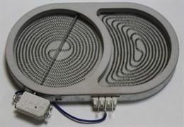 Конфорка в зборі 1800/1000W 165 мм для плити Whirlpool 481231018896