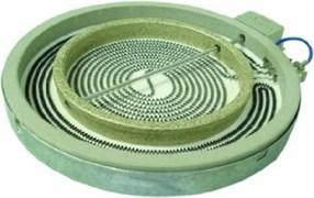 Конфорка для варочної поверхні Indesit Ariston 2200/1000Вт 205/140мм C00089645
