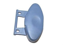Кнопка відкриття стулок барабана вертикальної пральної машини Indesit Ariston C00114990