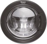 Люк сірий для пральної машини Ariston C00294779