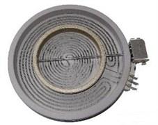 Конфорка електрична для поверхні Whirlpool 180/120мм 1800/750W 480121101742