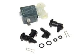 Клапан електромагнітний з перехідниками прокладками та скобами для кавомашини Delonghi 5513225701