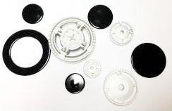 Набір пальників з кришками для газової плити Indesit PH640MSP C00091686