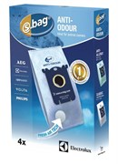 Мішки (4 шт) E203B S-BAG Anti-Odour до пилососа Electrolux 9001684597 9001660068 2190791109 (900166006)