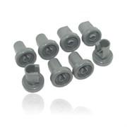 Комплект роликів (8шт) до посудомийної машини Electrolux 50286967000