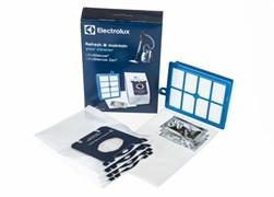 Мішки (4 шт) USK9S S-BAG + фільтри і ароматизатори для пилососа Electrolux 9009229700 (900922970)