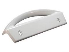 Ручка двері верхня / нижня біла для холодильника Electrolux 2236286056