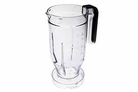 Чаша блендерна для кухонного комбайна Braun чорна 7322010424