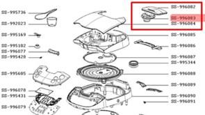 Клапан паровий мультиварки Moulinex SS-996083