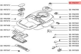 Клапан паровий мультиварки Tefal SS-996997