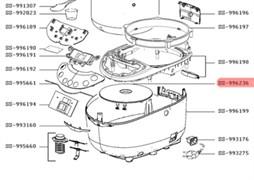 Нагрівальний елемент (ТЕН) мультиварки Moulinex SS-996236