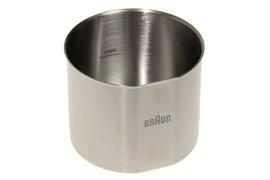 Чаша металева до насадки кавомолки для блендера Braun 7322117074