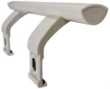 Ручка дверей для холодильника Electrolux 2651095073 (біла L=133mm )