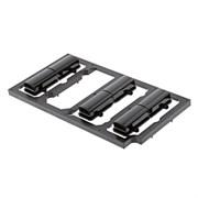Кнопки панелі управління мікрохвильової печі AEG 50299187000
