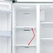 Полиця в морозильне відділення холодильника Samsung DA67-03362A (верхня)