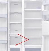 Полиця в морозильне відділення холодильника Samsung DA67-03363A (Нижня)