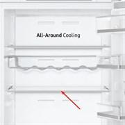 Полиця скляна для холодильника Samsung DA97-17294a